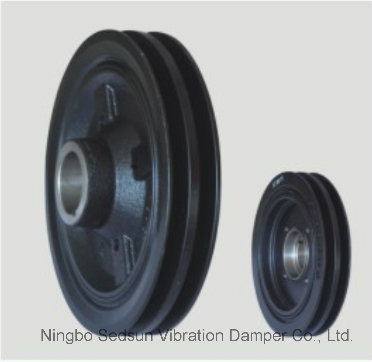 Torsional Vibration Damper / Crankshaft Pulley for Mitsubishi Md374223