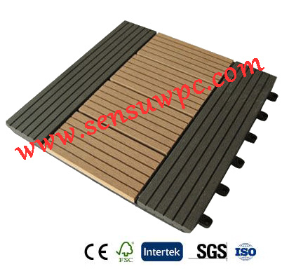 Sensu WPC DIY Decking Tiles with High Quality
