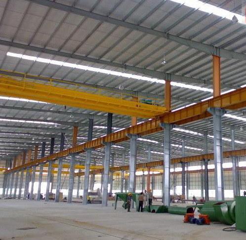 Prefab Light Steel Structure Workshop