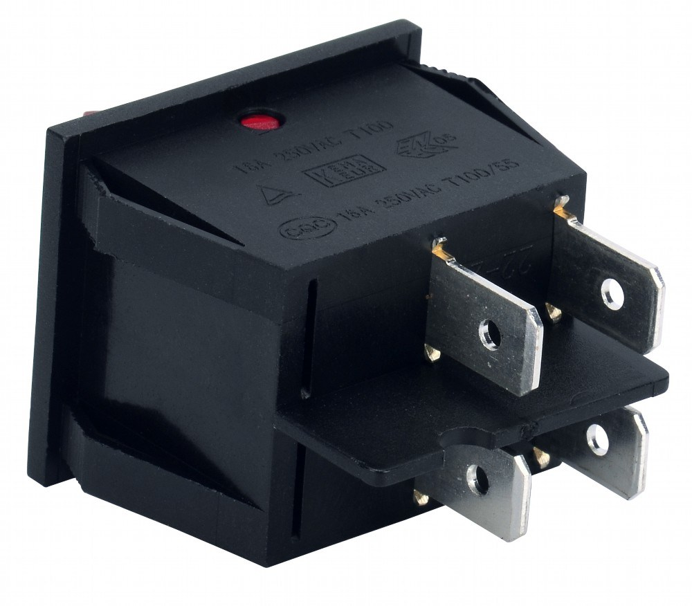 Soken Rk1-22 1X1X2 on off Double Rocker Switch