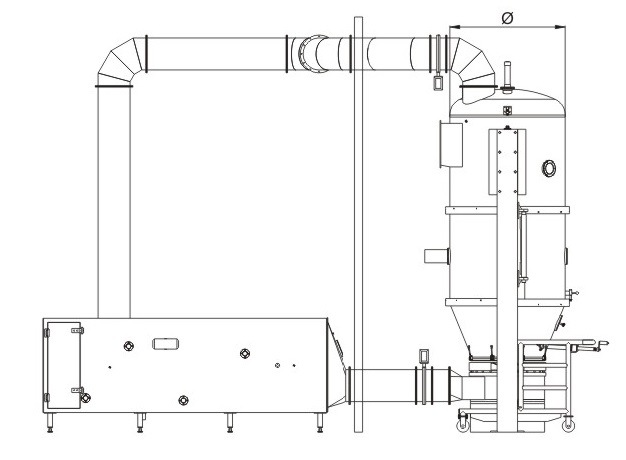 Fbg Series Fluid-Bed Granulator