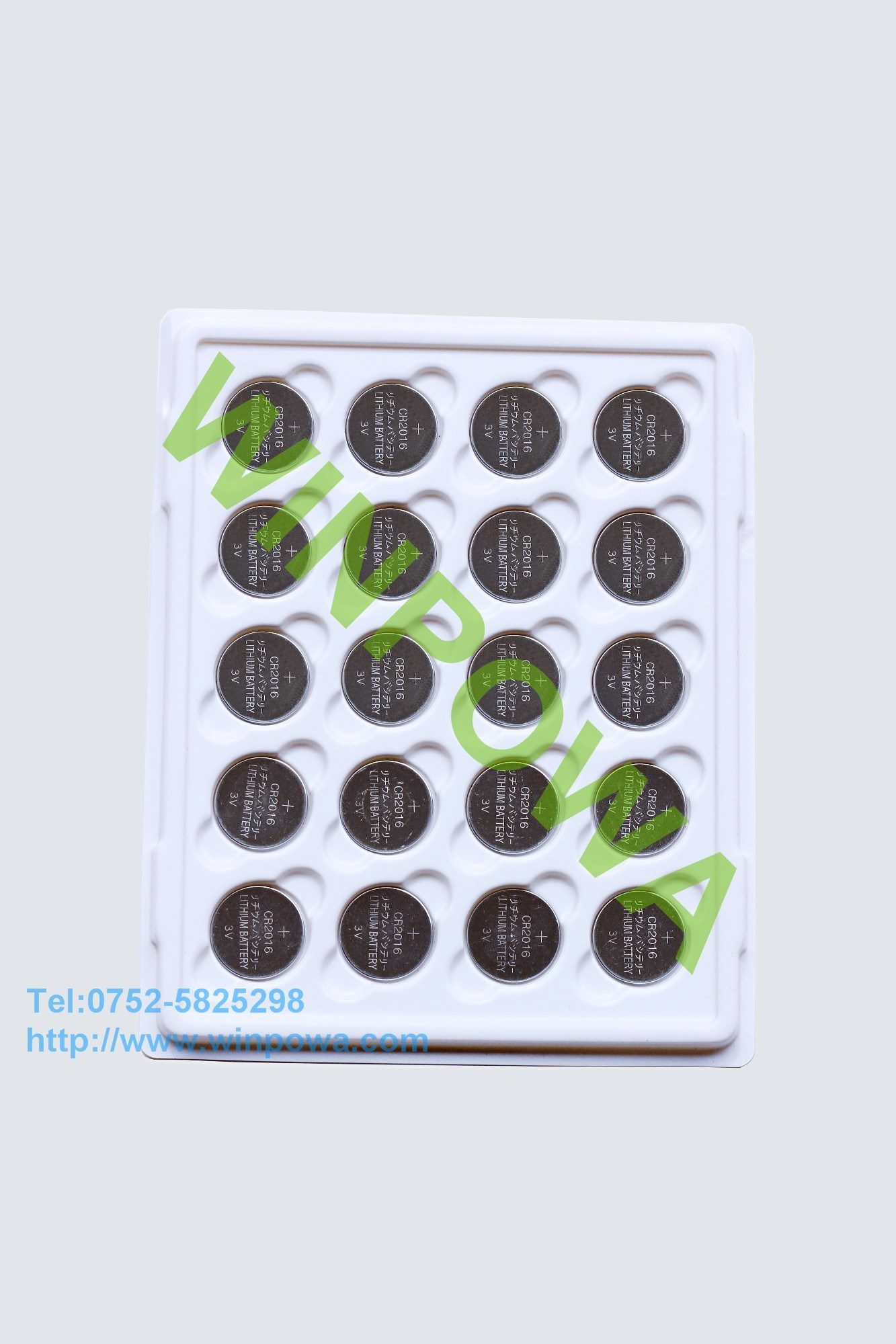 3V Cr1220 Lithium Button Battery for Finger Top