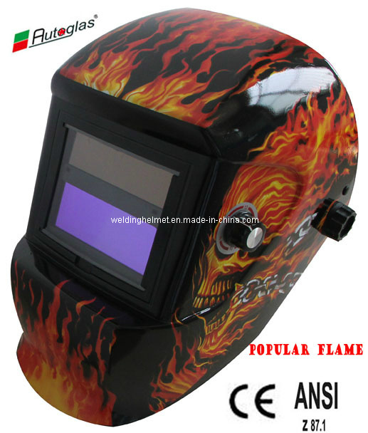 CE/ANSI, Flame GOST/ 9-13 Auto-Darkening Welding Helmet (G1190ST)