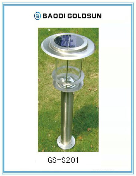 Outdoor Solar Power Waterproof LED Garden Light From China