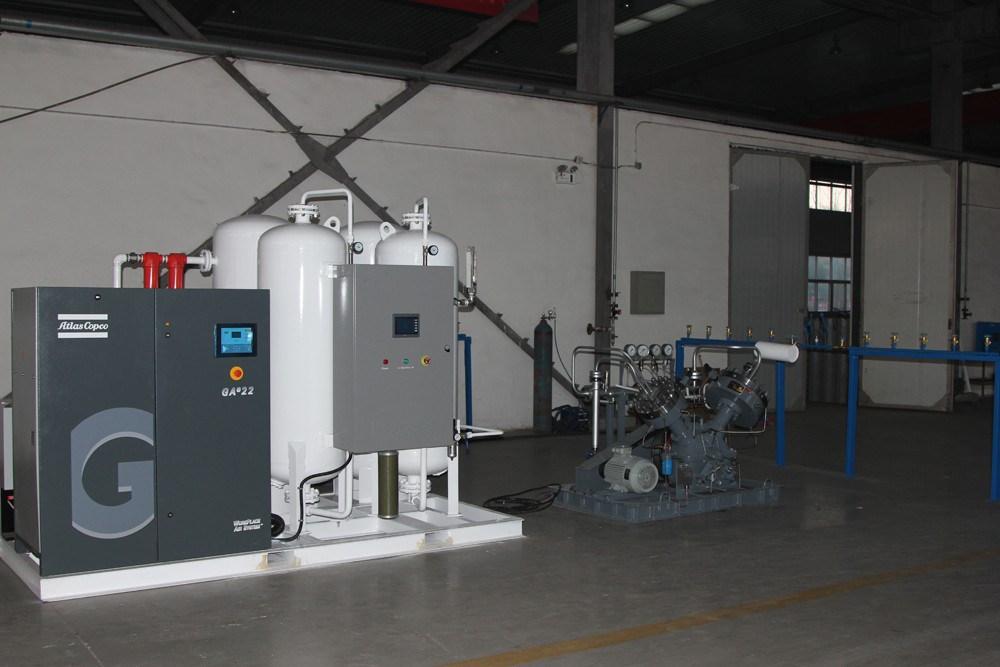 Psa Medical/Industrial Oxygen Generator for Cylinder Filling