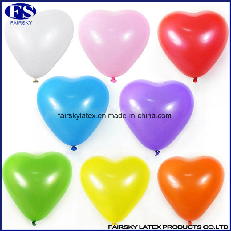 Natural Latex Balloon, Heart-Shaped Balloon-ISO Factory