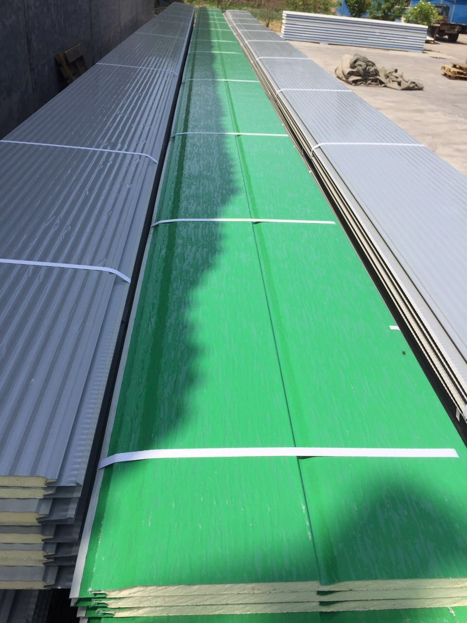 Decorative Metal Wall Insulated Panel Roof Panel