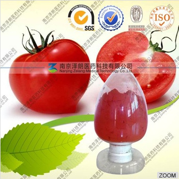 Natural Tomato Extract Lycopene From FDA Registered Supplier