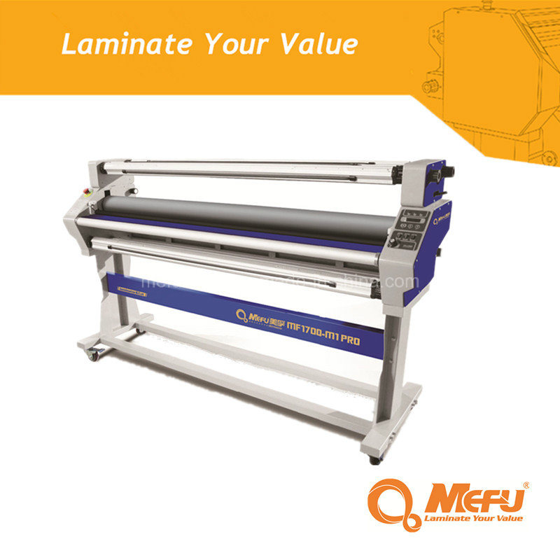 MEFU MF1700M1 PRO Heat Assist Roll Cold Laminator for Film Laminating Machine