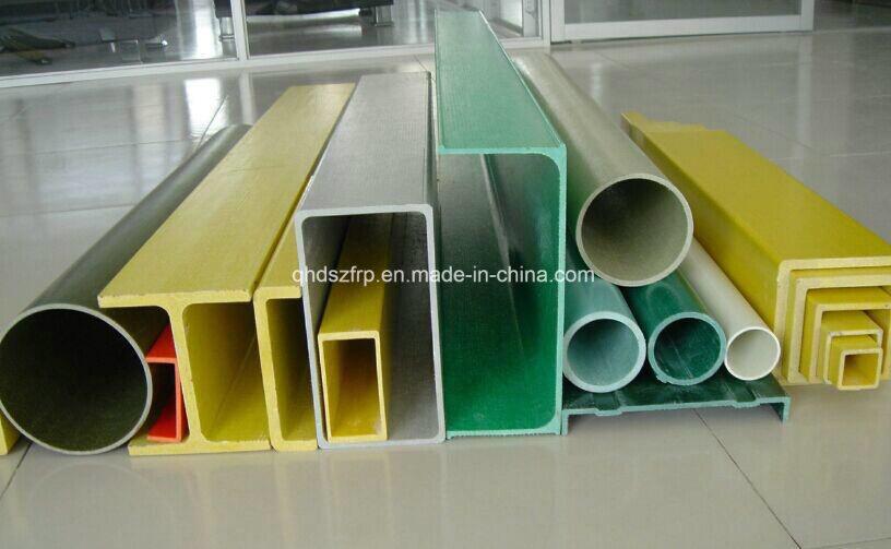 Fiberglass Pultruded Profiles, Fiberglass Construction Material, FRP Pultruded Profile