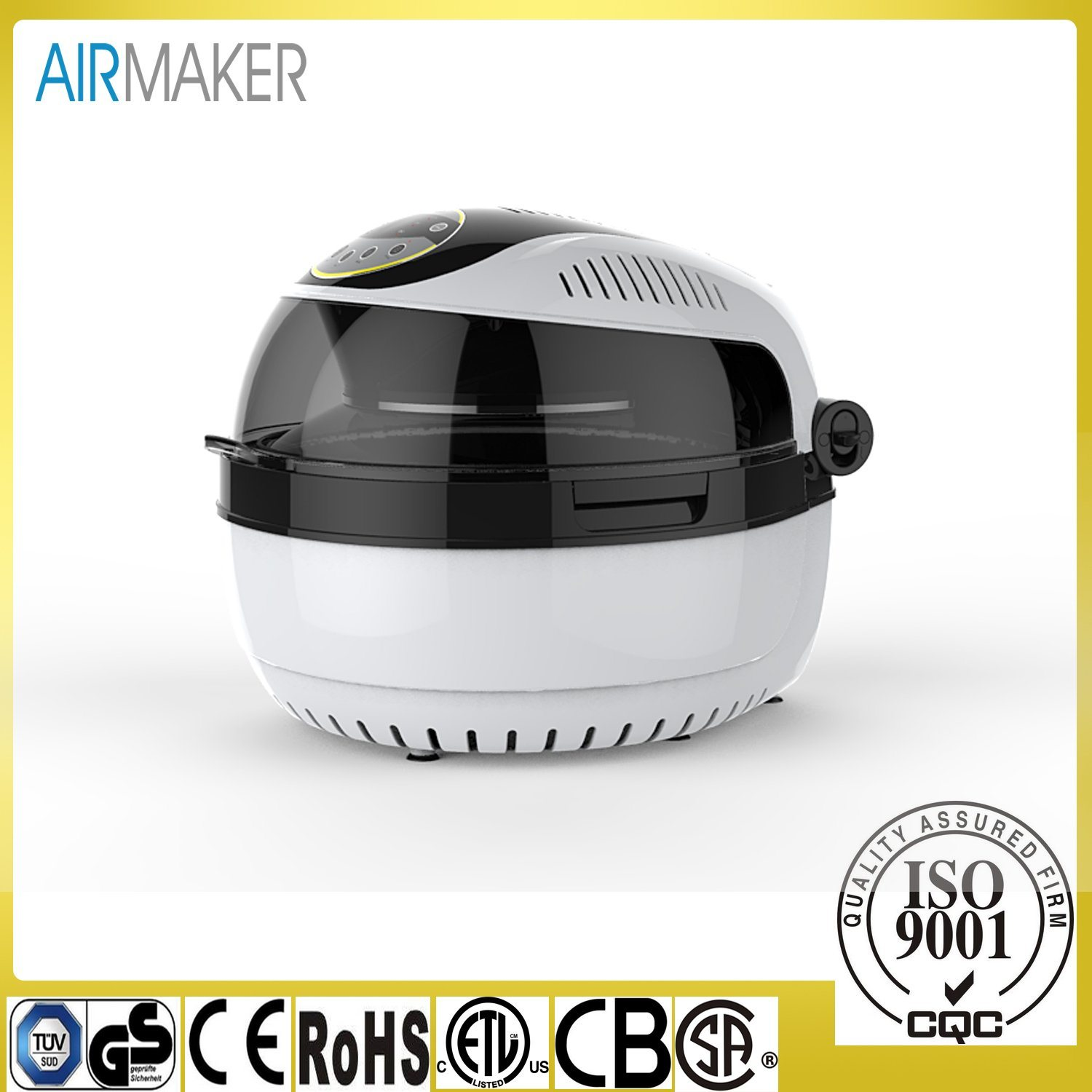 10 Litres Digital Electrical Air Fryer Without Oil Machine