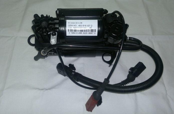 Air Suspension Compressor Inflating Pump for Audi A8 D3