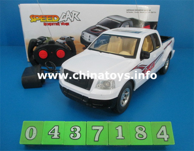 Plastic RC Car Toys, 4 CH Remote Control Car RC Model (0437184)