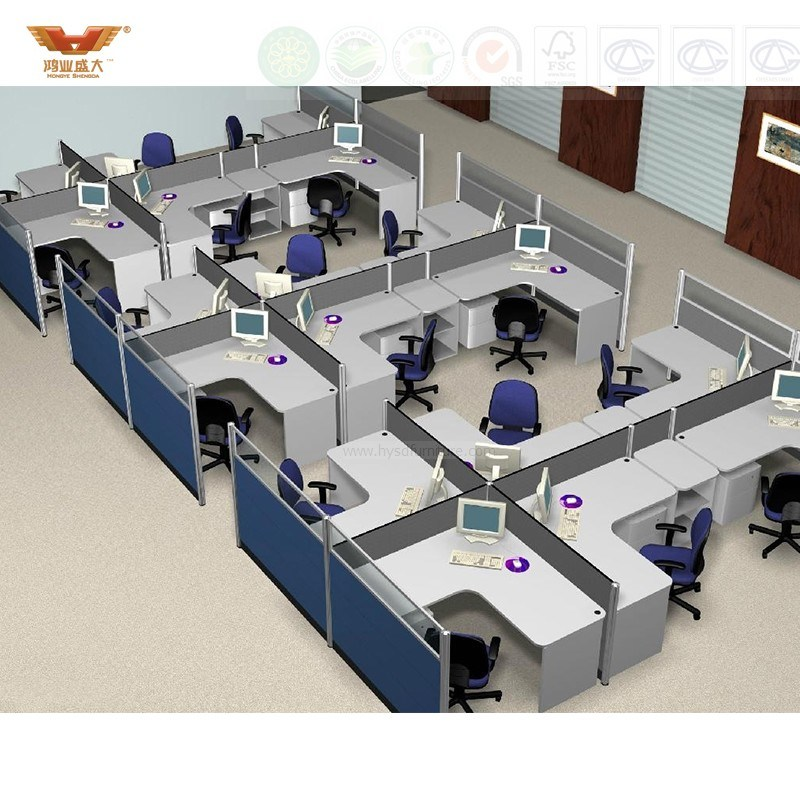 New Design Fsc Forest Certified Approved by SGS Modern Office Furniture for Economic Series Office Furniture (HY-TM9099)