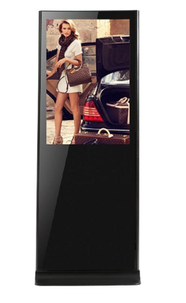 42 Inch Stand Alone Super Slim LCD Screen Kiosk