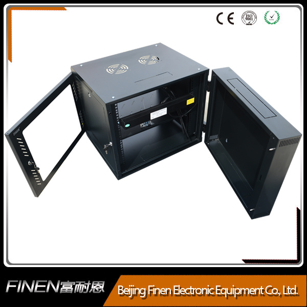 China Factory Wall Mount Double Section 15u Swing Cabinet