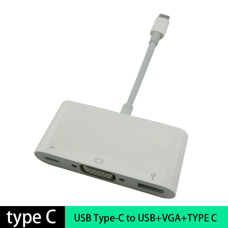 USB 3.1 Type C VGA Multiport Adapter