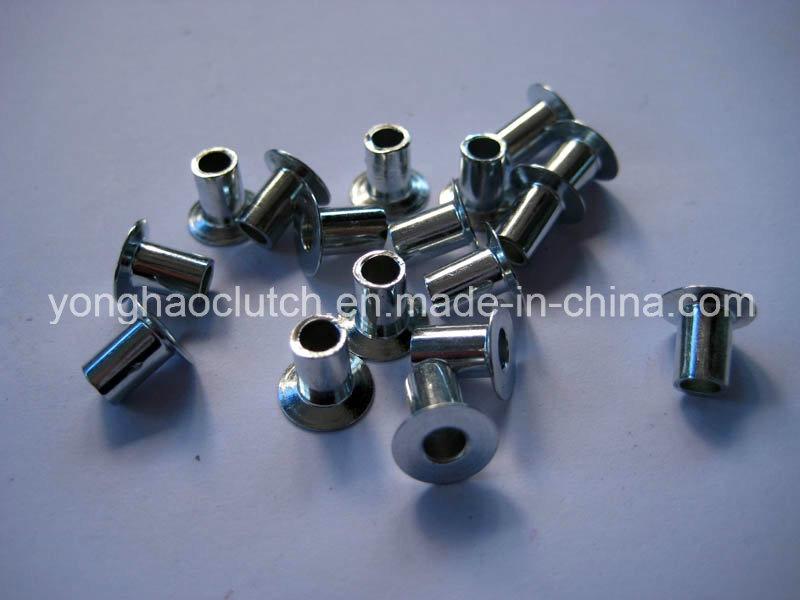 Steel Clutch Facing Rivets 4X6 J3.5 Nickel Plated