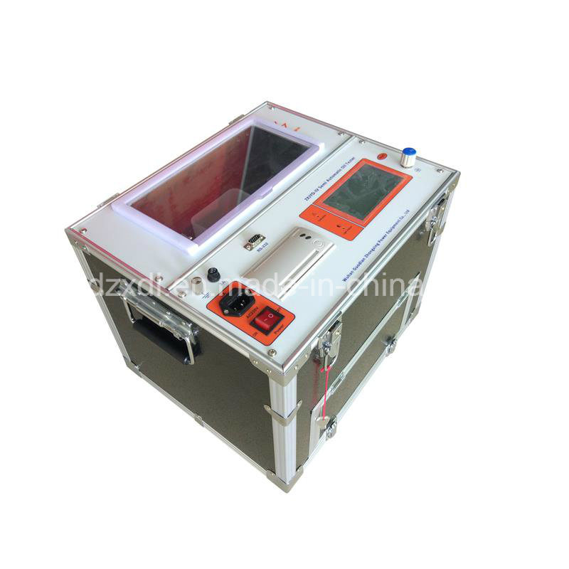 80kV Automatic Single Cup Insulating Oil breakdown Voltage Tester