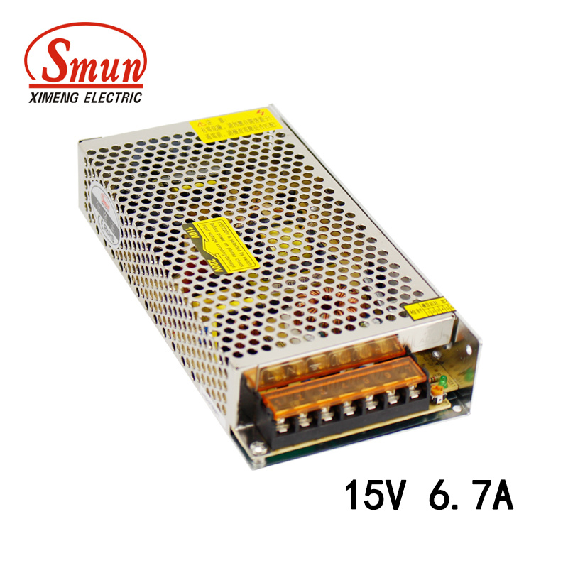 High Quality 100W 15V 6.7A Switch Power Supply S-100-15