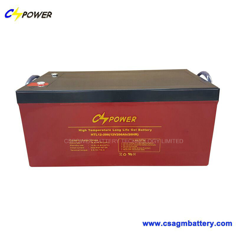 12V135ah Deep Cycle VRLA Gel Battery for UPS