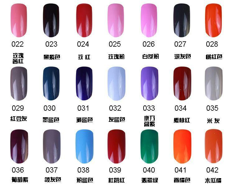 162 Colors Soak off Long Lasting UV/LED Gel Nail Polish