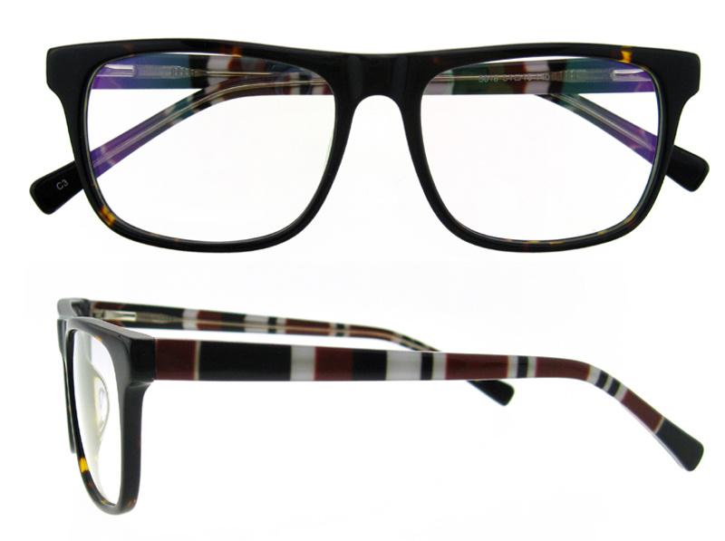 Fashion Wholesale Eyewear Optic Frame Fashion Naked Glasses Handmade Acetate Frame