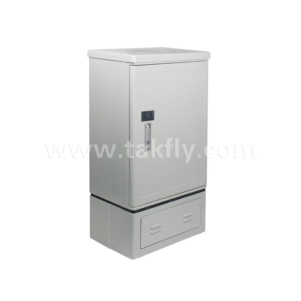 96 Cores Floor Type Fiber Optic Cross Connect Cabinets Outdoor Distribution Cabinet