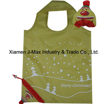 Foldable Shopper Bag, Clown Style, Reusable, Lightweight, Grocery Bags and Handy, Gifts, Promotion, Tote Bag, Decoration & Accessories