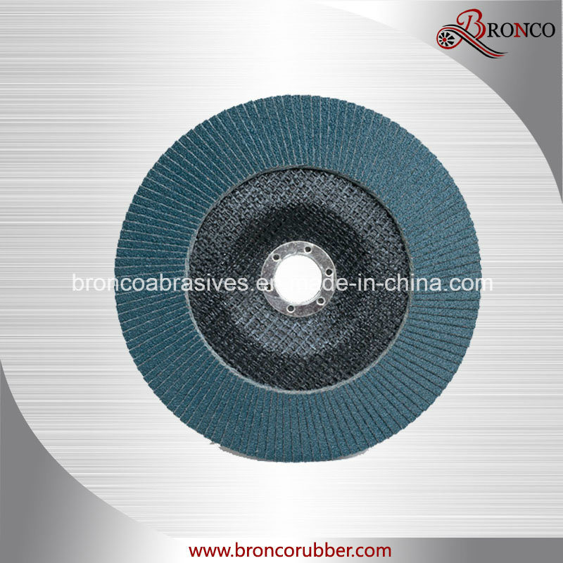 Zirconia Alumina Flap Disc with Fiberglass Backing