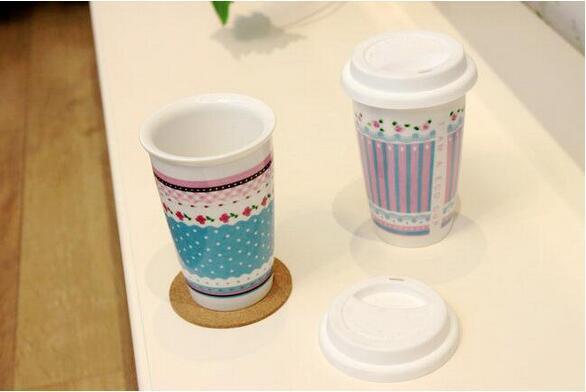 14oz Popular Ceramic Mug with Decal for Gift