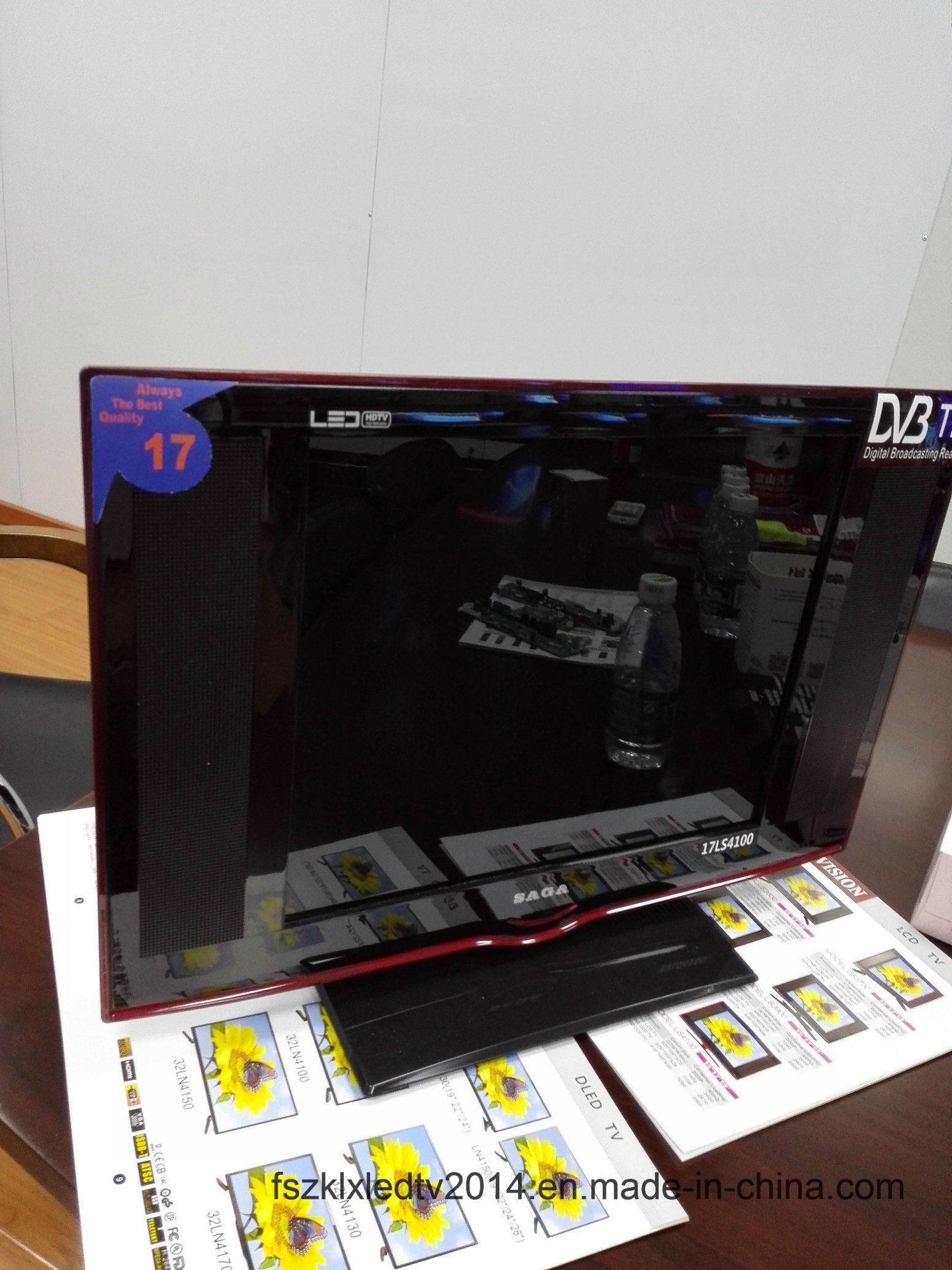 """2016 New 17"""" Tempered Glass Digital LED TV Model"""