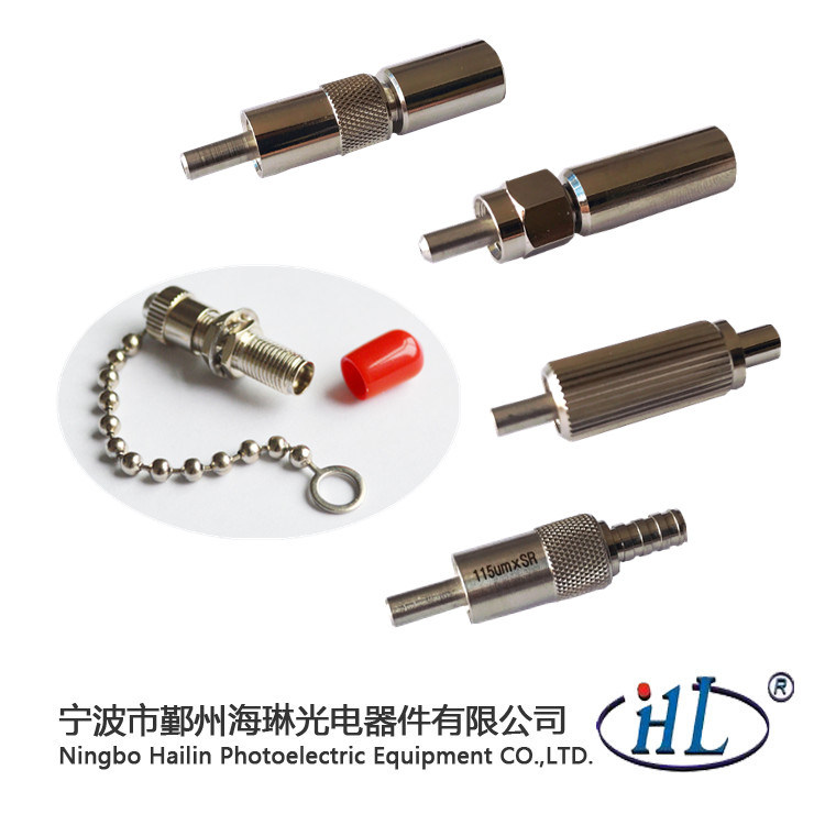 High Power Stainless Steel Ferrule SMA905 Fiber Optic Connector