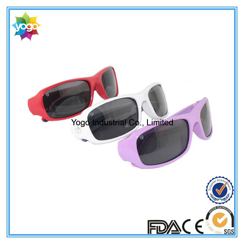 Pass En/an/as Round Fashion Brand Polarized Designer Sunglasses for Kids