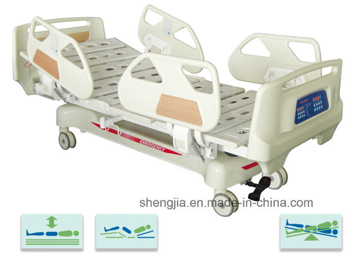 Sjb505ec Luxurious Electric Vertical Travelling Bed with Five Functions