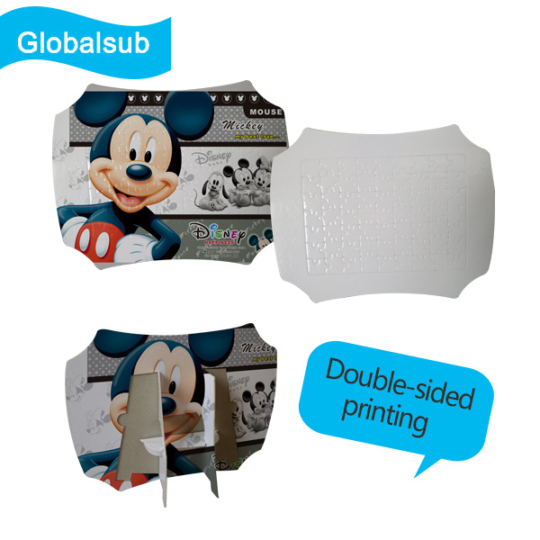 Variety of Styles Reusable Top Quality Custom Jigsaw Sublimation Puzzles