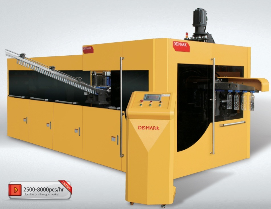 Fully Automatic Linear Pet Stretch-Blow Molding Machine Sfl4