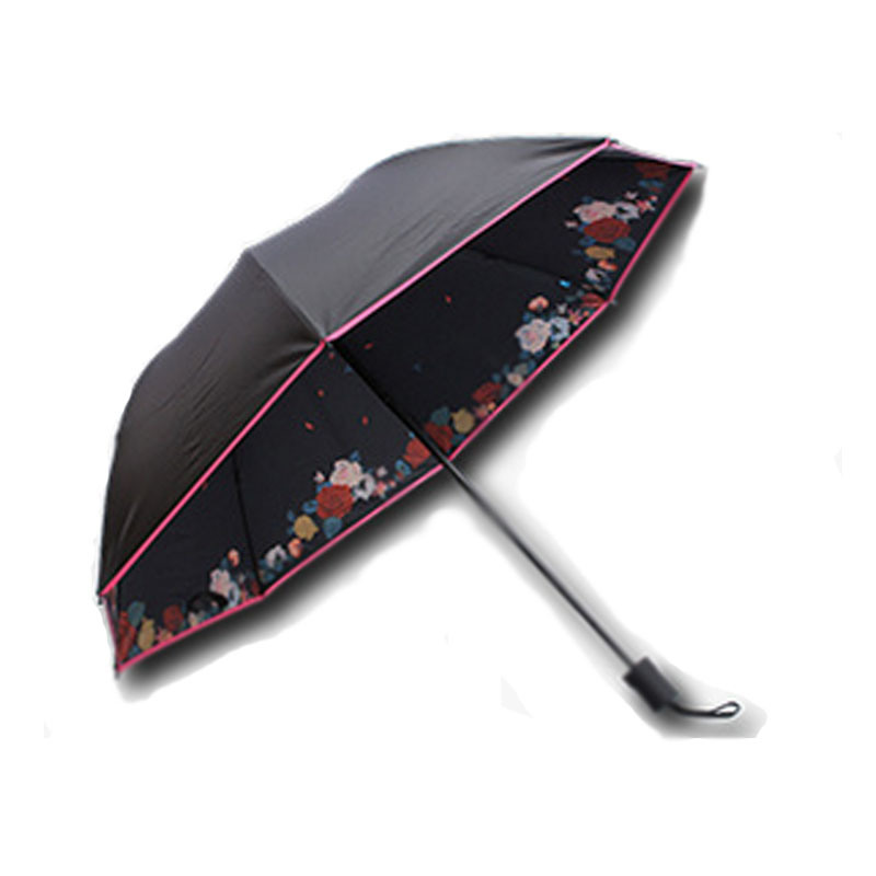 Chinese Factory Best Quality 8 Ribs Manual Open and Close Folding Umbrella