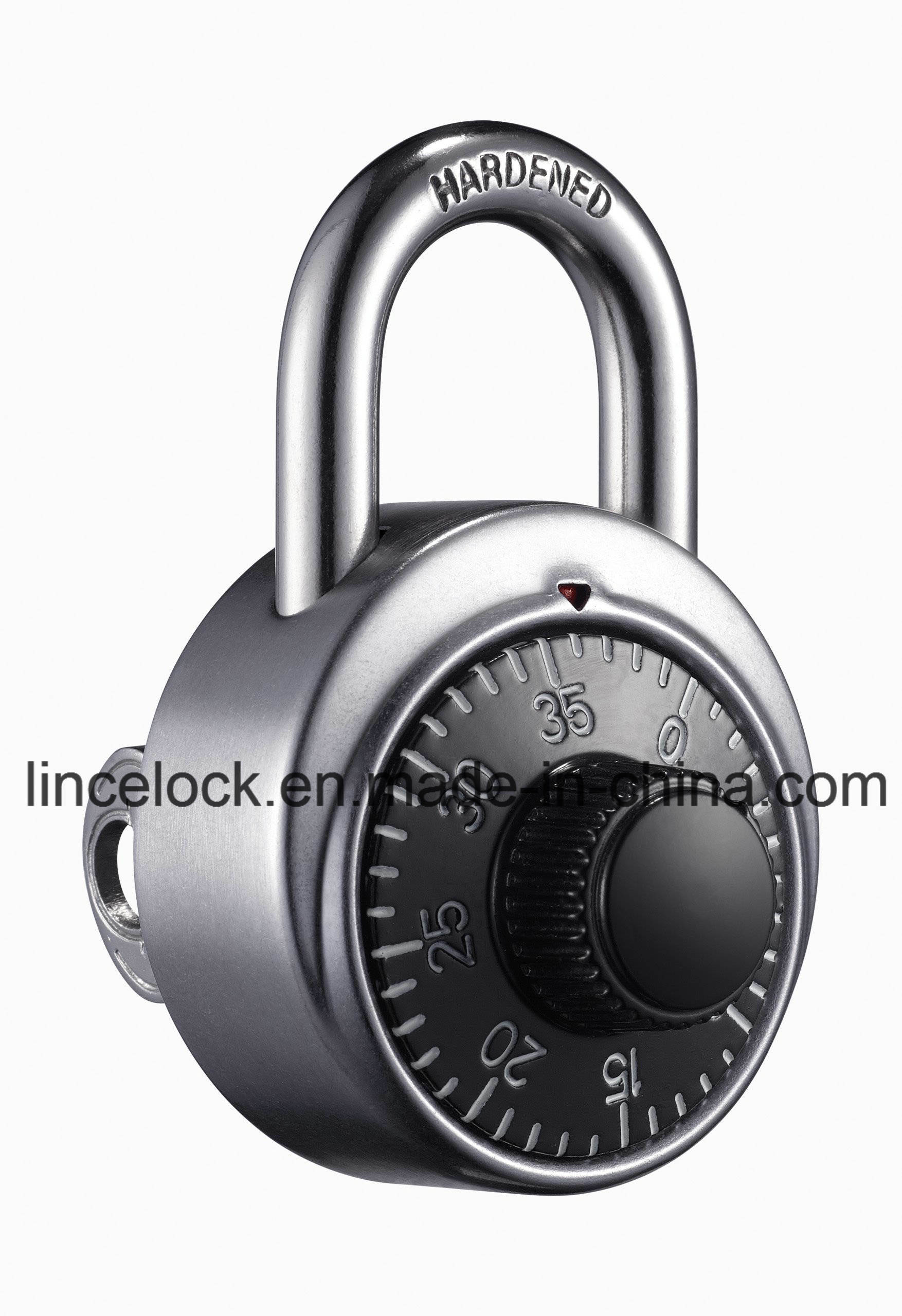 Combination Dial Padlock / Aluminum Alloy Code Lock (504)
