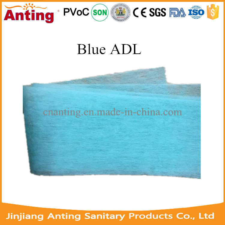 Colorful Non-Woven Adl Raw Material for Baby Diaper Training Pants