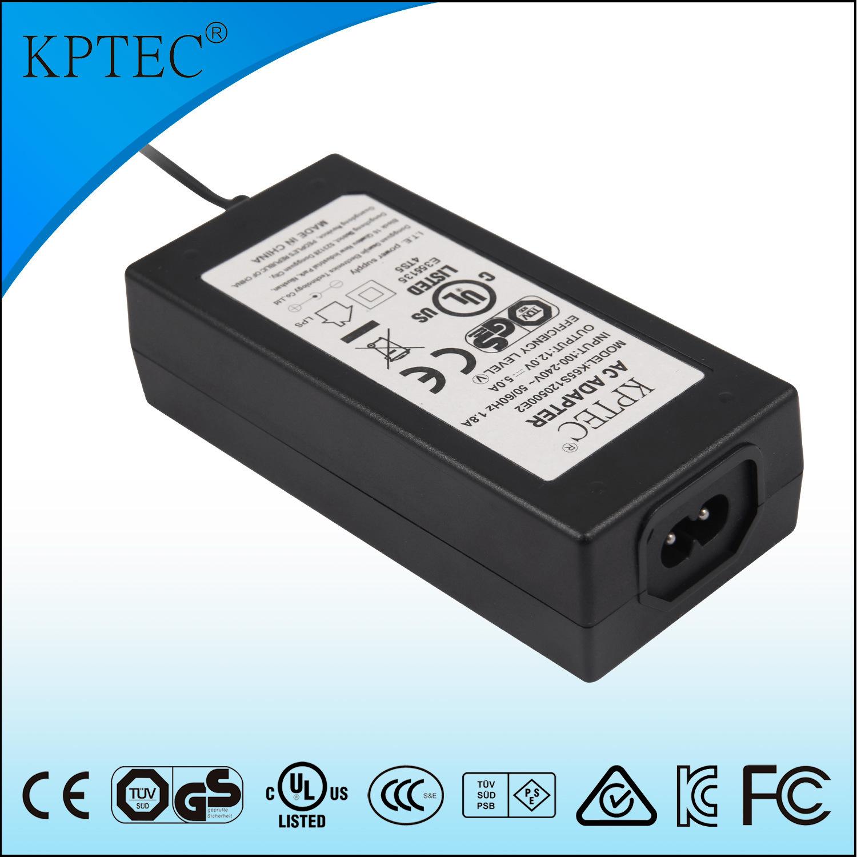 Desktop 60W 65W Power Supply with UL Ce GS Certificates