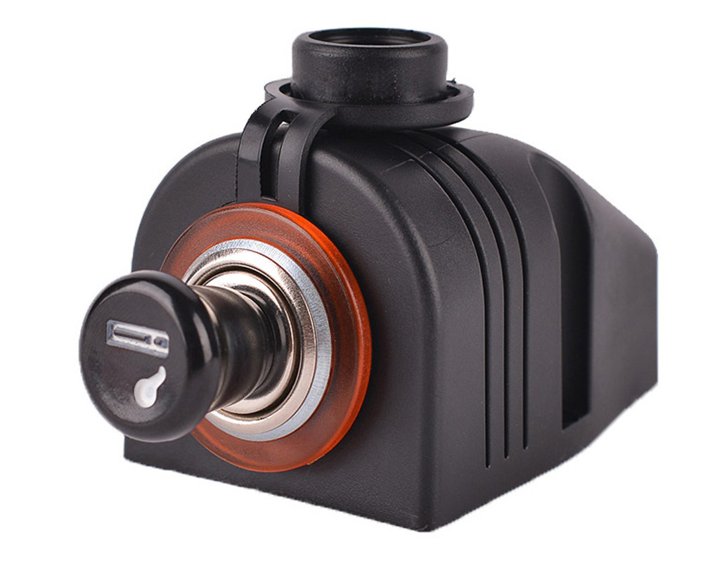 Marine Boat motorcycle Car Dual USB Port Adapter Charger Plug