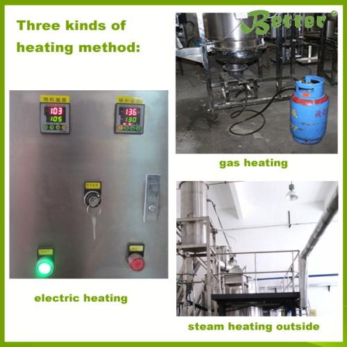 Stainless Steel Big Capacity Essential Oil Steam Distiller