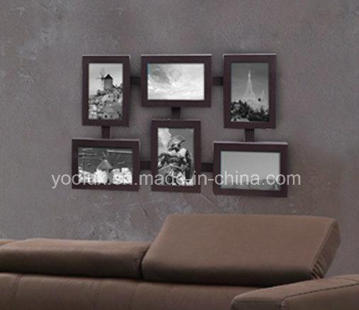 LED Plastic Multi Openning Decoration Collage Photo Frame