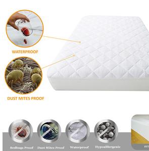 Fully Encased Waterproof Anti-Bed Bug Mattress Protector