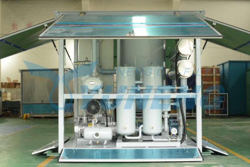 6000lph High Vacuum Transformer Oil Purifier