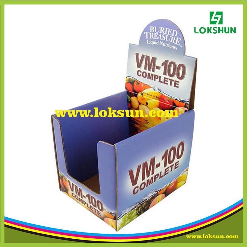 Cardboard Pallet Display, Supermarket Promotional Display Rack, PDQ Display Box