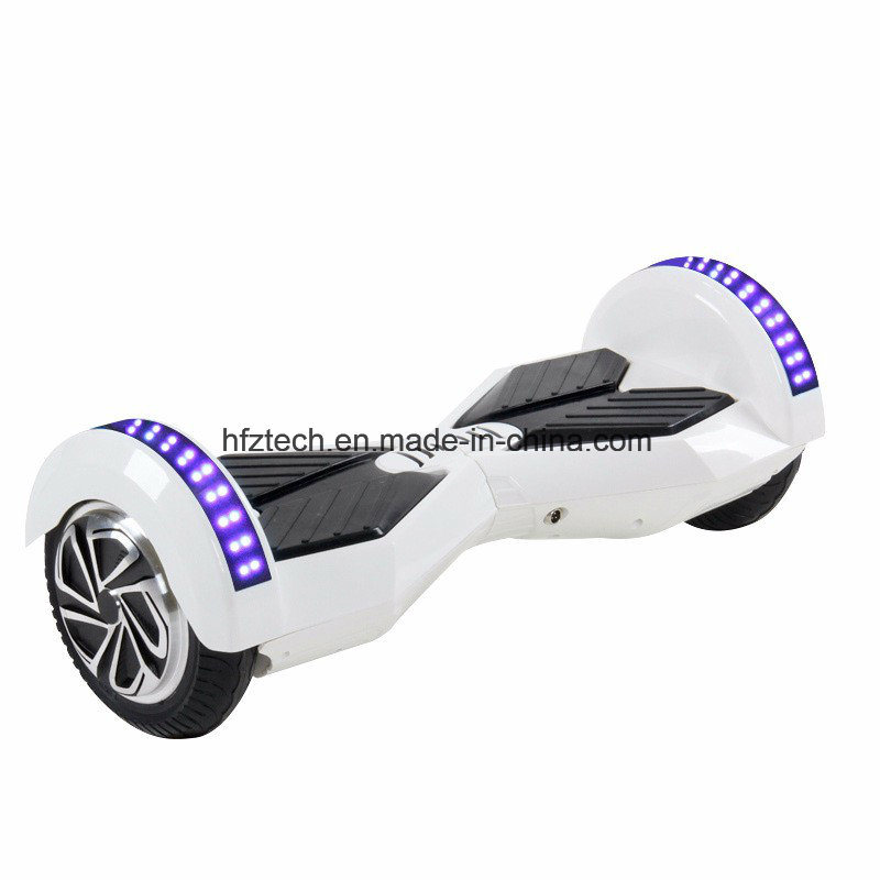 Hoverboard 8 Inch Bluetooth 2 Wheel Self Balancing Two Smart Wheel with Remote Key and LED Skateboard Electric Scooter