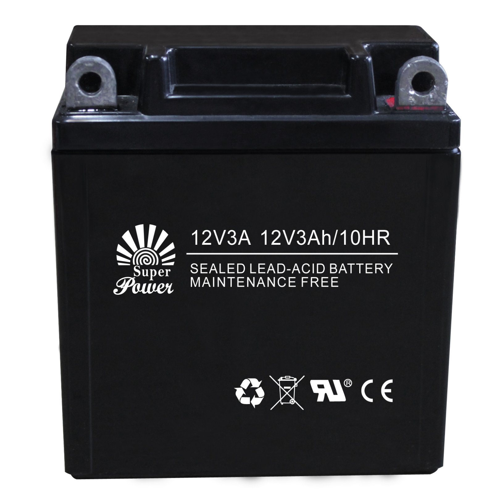 VRLA Motorcycle Battery 12V 3ah with CE UL Certificate