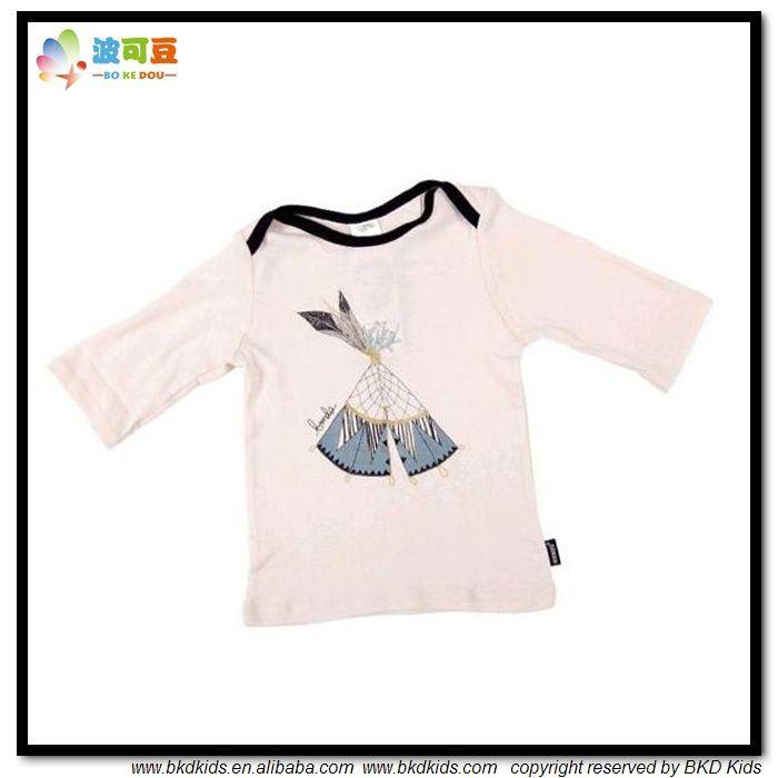 Envelope Neck Baby Garment Soft White Baby Apparel